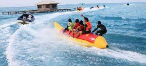 speed-boat-fiber-untuk-penarik-banana-boat