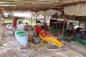 Cara Membuat Perahu karet Kano